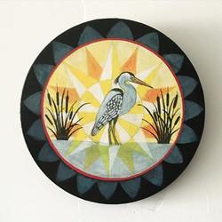 Blue heron beauty 🎨✌️♥️ #hex #hexsign #