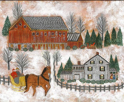 Der Belsnickel Suite series paintings are available now! #derbelsnickel #christdaag #gladyslutzinspi