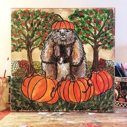 My fall grundsau is all finished!! Mums
