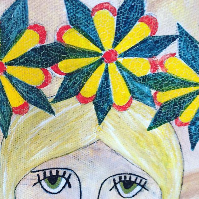 Crackle jawn 😍😍😍 #kutztownfolkfestival #rachelyoderart #folkart #deitschartist #wassernix