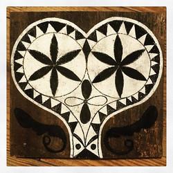 Heart and rosettes ♥️ #reclaimedbarnwood
