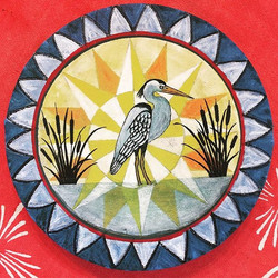 A sweet little heron painting after one