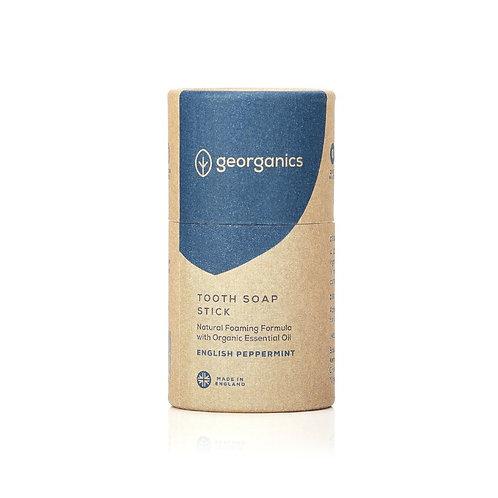 Georganics Natural Toothsoap - Στερεή Οδοντόκρεμα English Peppermint