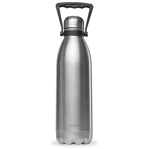 Μπουκάλι Θερμός Qwetch - Brushed Steel 1.5L