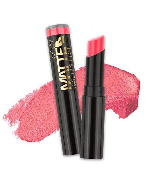 L.A. Girl Matte Flat Velvet Lipstick - Blessed