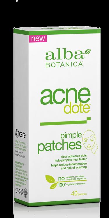 Alba Botanica Acne Dote Pimple Patches -  Αυτοκόλλητα Επιθέματα 40τμχ