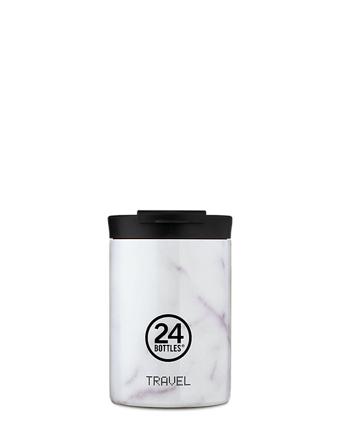 24 Bottles Travel Tumbler Carrara - Ποτήρι Θερμός 350ml