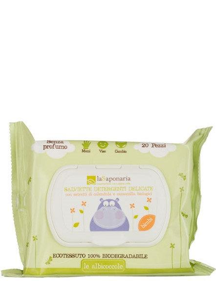 La Saponaria Eco Wet Wipes - Οικολογικά Μωρομάντηλα