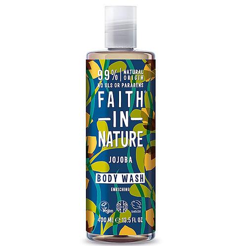 Faith In Nature Shower Gel Jojoba & Ylang Ylang - Αφρόλουτρο Jojoba & Ylang
