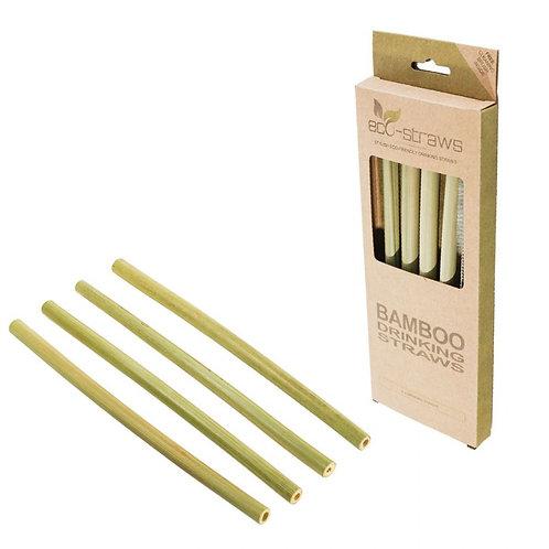 Bamboo Straws - Set 4 Καλαμάκια Μπαμπού