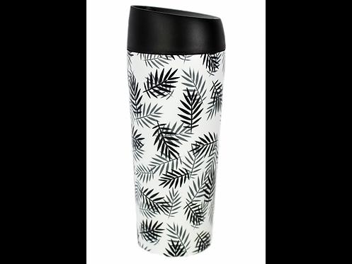 Well Mug Leaves - Ποτήρι Θερμός Leakproof 450 ml