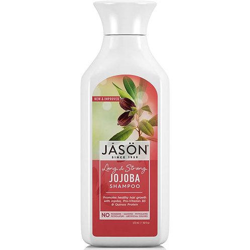 Jason Long & Strong Jojoba Shampoo - Σαμπουάν με βιολογική Τζοτζόμπα