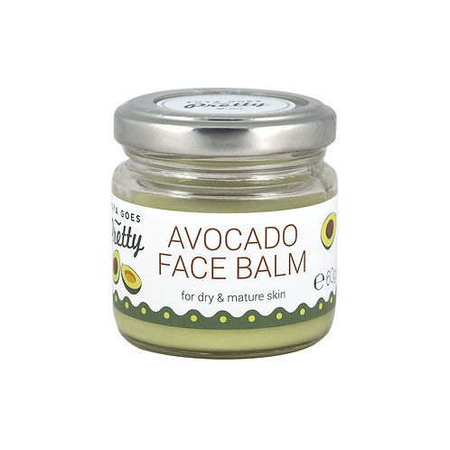 Zoya Goes Pretty Avocado Face Balm - Αβοκάντο Βάλσαμο Προσώπου