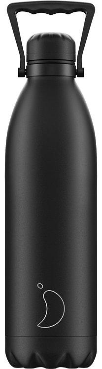 Μπουκάλι Θερμός Chilly's - All Black 1.8 L