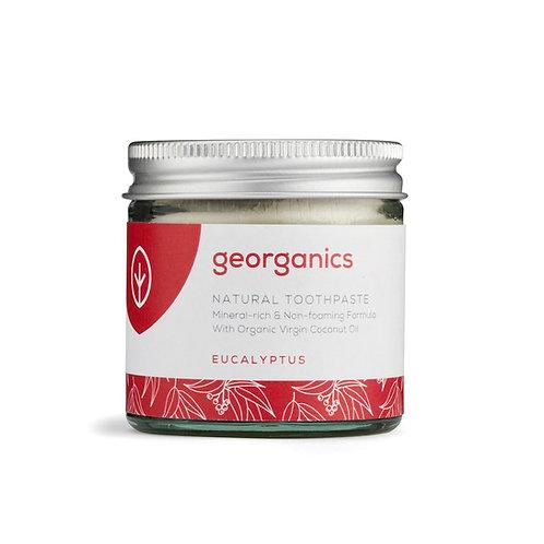 Georganics Οδοντόκρεμα με Βιολογικό Λάδι Καρύδας - Eucalyptus