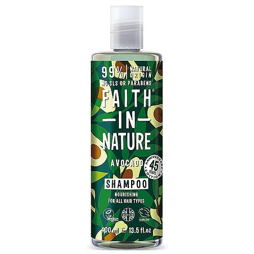 Faith In Nature Shampoo Avocado - Σαμπουάν Με Έλαιο Αβοκάντο