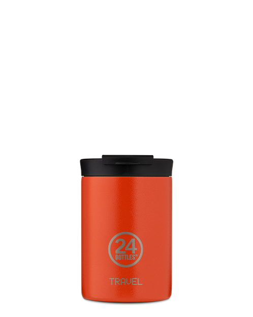 24 Bottles Travel Tumbler Sunset Orange - Ποτήρι Θερμός 350ml
