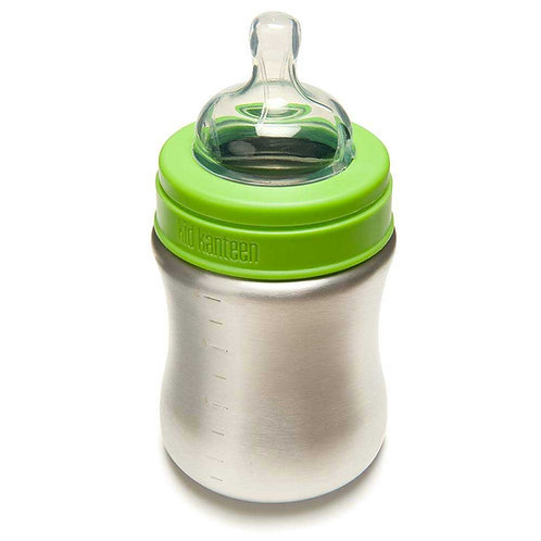 Klean Kanteen Baby Bottle Brushed Stainless 148ml 0-6 Μηνών