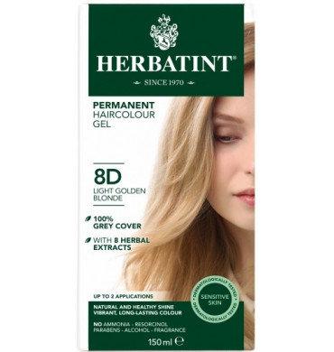 HERBATINT 8D Ξανθό Ανοικτό Χρυσαφί