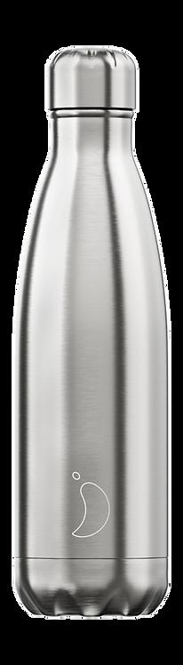 Μπουκάλι Θερμός Chilly's - Original Silver 500ml