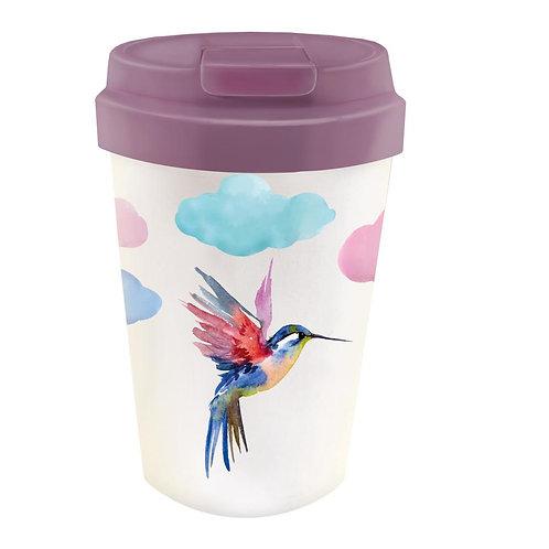 Bioloco Plant Easy Cup - Watercolor Bird