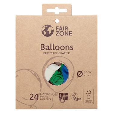 Fair Zone Balloons Mix - Μπαλόνια Από Φυσικό Λάτεξ
