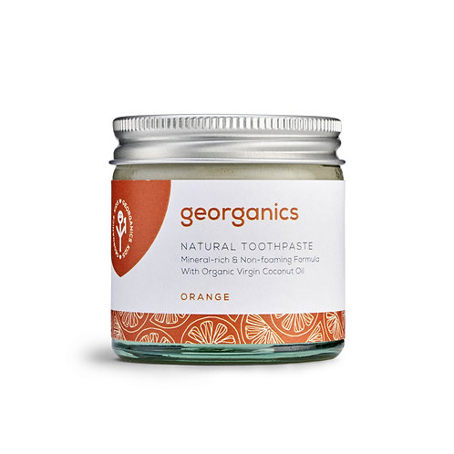 Georganics Οδοντόκρεμα με Βιολογικό Λάδι Καρύδας - Orange