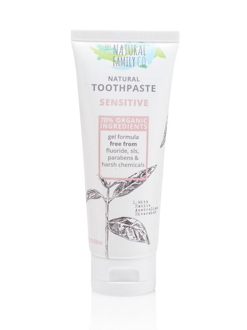 The Natural Family Co Natural Toothpaste - Sensitive