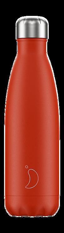 Μπουκάλι Θερμός Chilly's - Neon Red 500ml