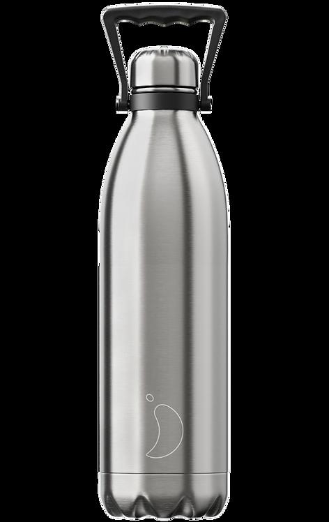 Μπουκάλι Θερμός Chilly's - Original Silver 1.8 L
