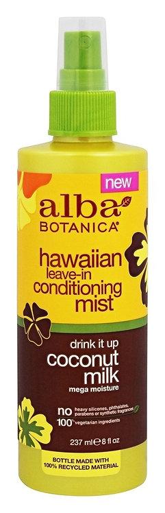Alba Botanica Hawaii Leave-in Conditioner Mist - Μαλακτική Χωρίς Ξέβγαλμα Σπρέι