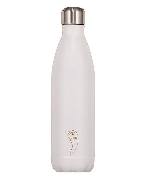 Μπουκάλι Θερμός Chilly's - Matte White 500ml