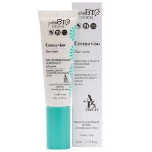 PuroBIO Ap3® FOR SKIN Sebum-Balancing - Bιολογική Κρέμα/Λιπαρό Δέρμα