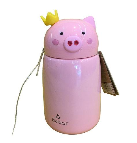 Ανοξείδωτο Θερμός Bioloco Kids Piglet