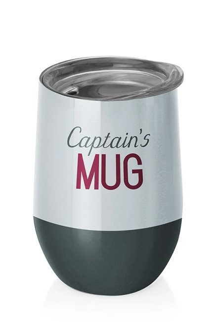 Chic Mic Stainless Steel Thermos Cup -Captain's Mug  | 400ML