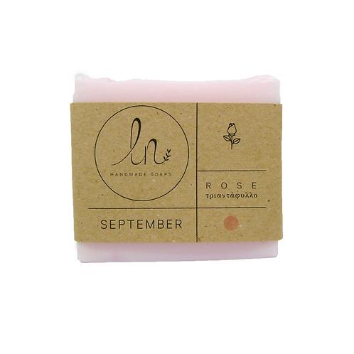 September - The Rose Soap