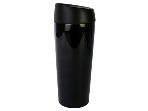 Well Mug Black Chrome - Ποτήρι Θερμός Leakproof 450 ml