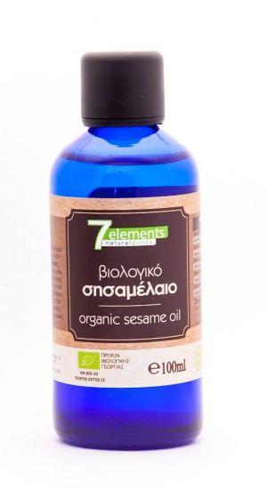 7Elements Βιολογικό Σησαμέλαιο Ψυχρής Έκθλιψης - Βρώσιμο / Καλλυντικό