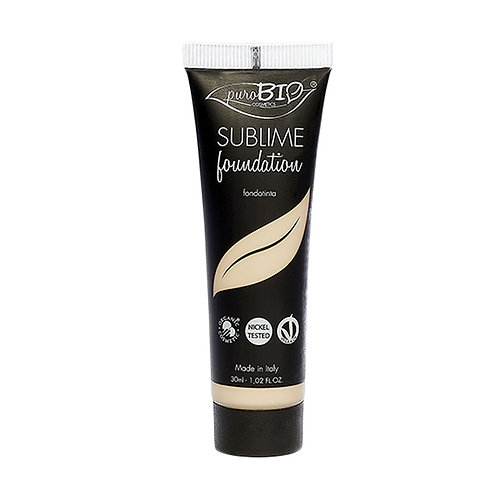 Purobio Sublime Fluid Foundation No1 - Βιολογικό Υγρό Make Up