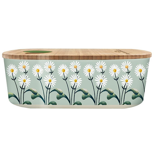 Plant Oval Lunch Box - Daisies