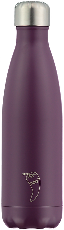 Μπουκάλι Θερμός Chilly's - Purple Matte 500ml
