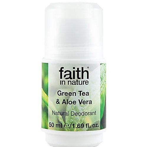 Faith In Nature Αποσμητικό Με Πράσινο Τσάι