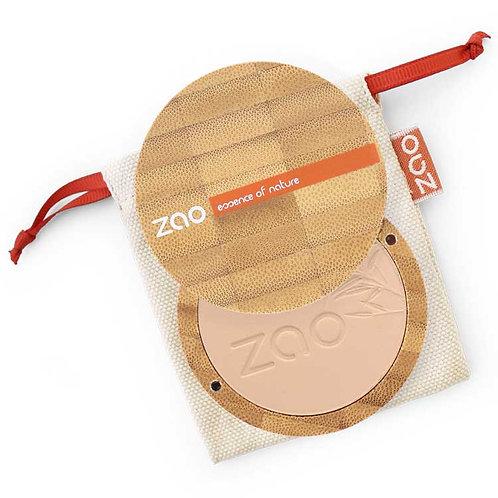 Zao Compact Powder 302 Beige Orange - Οργανική Πούδρα