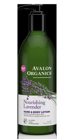 Avalon Organics Hand & Body Lotion Lavender - Γαλάκτωμα Σώματος & Χεριών Λεβάντα