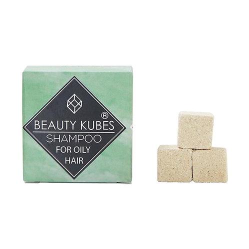 Beauty Kubes Zero Waste Organic Shampoo - Oily Hair, Plastic Free