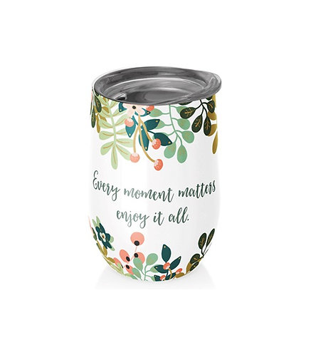 Chic Mic Stainless Steel Thermos Cup - Every Moment Matters   400ML