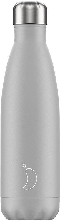 Μπουκάλι Θερμός Chilly's - Monochrome Light Grey 500ml