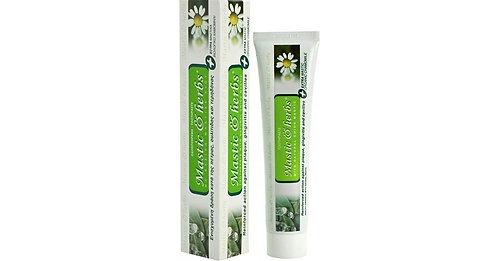 Οδοντόκρεμα Mastic & Herbs με μαστίχα και χαμομήλι