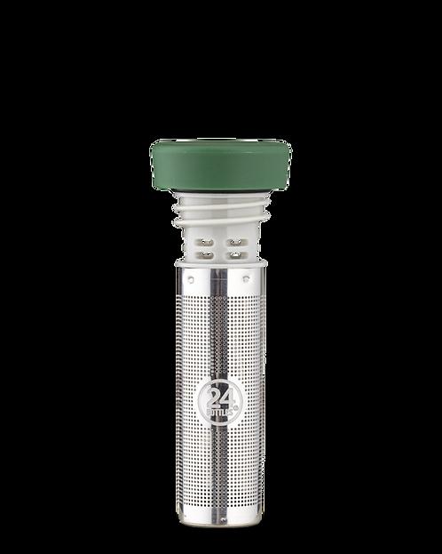 24 Bottles Infuser Lid Green - Kαπάκι Ιnfuser / Φίλτρο