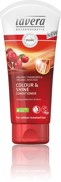 Lavera Conditioner Colour & Shine - Μαλακτική Κρέμα Μαλλιών Για Χρώμα & Λάμψη